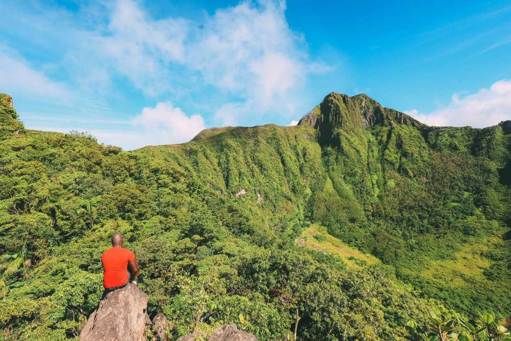 Hiking To The Top Of A Volcano... In the Caribbean! (22)