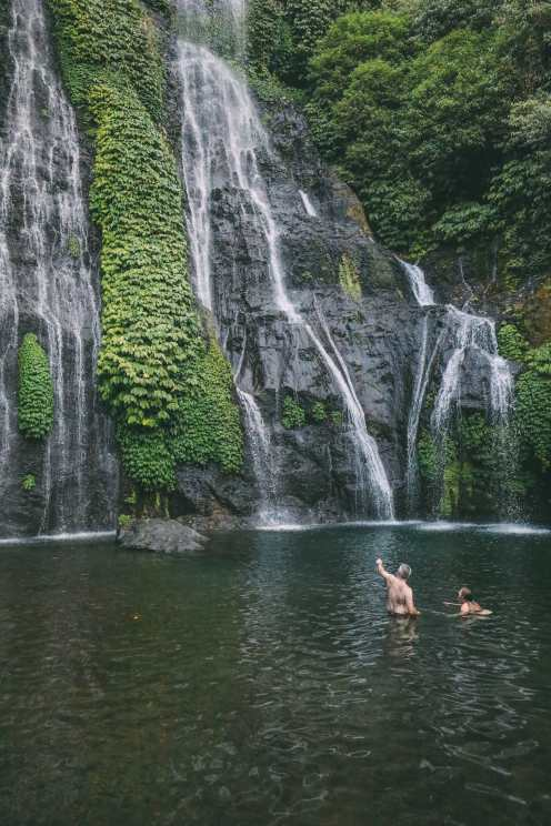 The Amazing Banyumala Twin Waterfalls In The Jungles Of Bali (15)