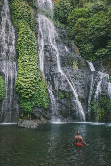 The Amazing Banyumala Twin Waterfalls In The Jungles Of Bali (16)