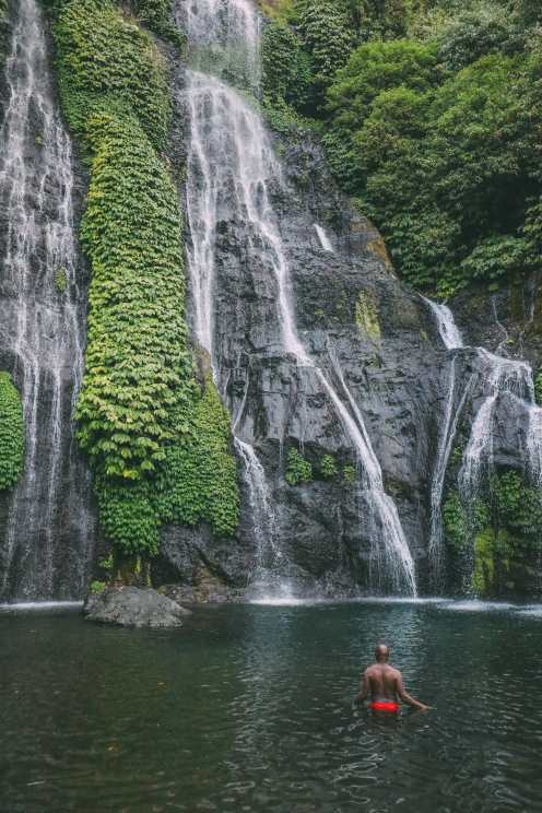 The Amazing Banyumala Twin Waterfalls In The Jungles Of Bali (16)