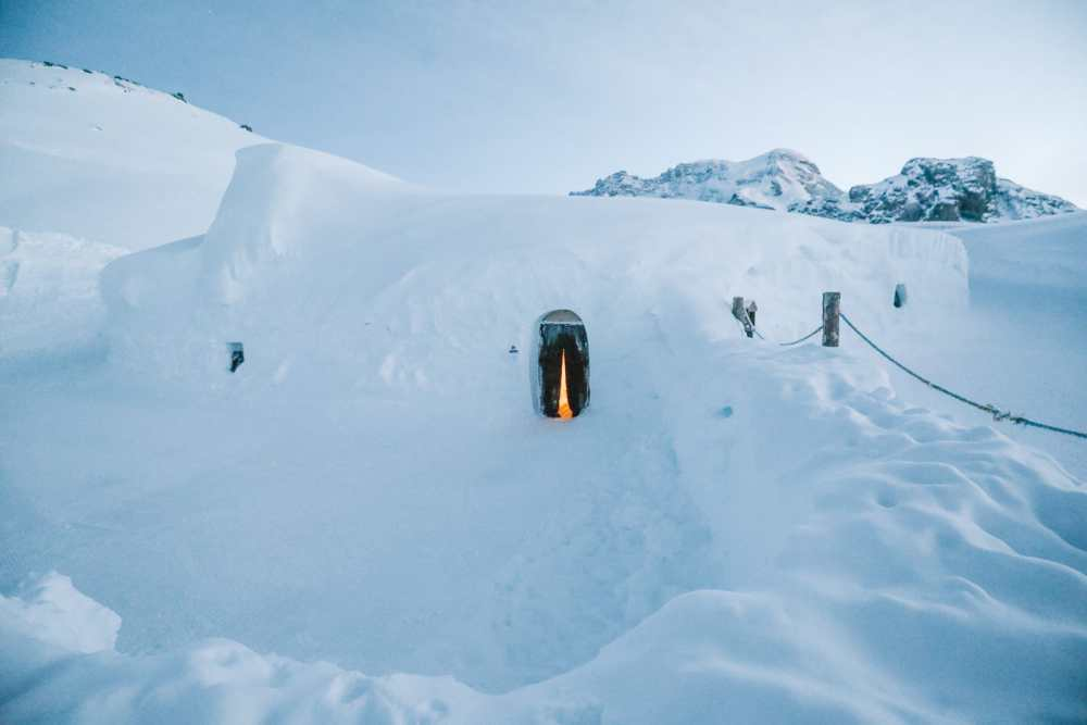 Sleeping In An Igloo Under The Matterhorn... In Zermatt, Switzerland (24)