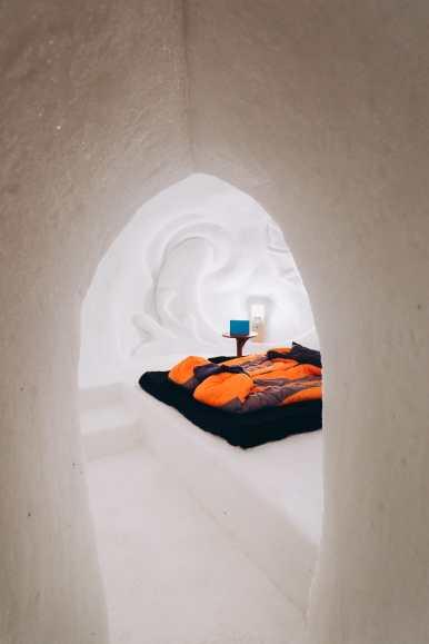 Sleeping In An Igloo Under The Matterhorn... In Zermatt, Switzerland (33)