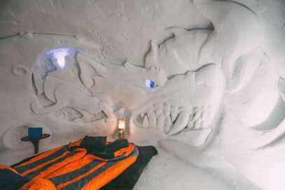 Sleeping In An Igloo Under The Matterhorn... In Zermatt, Switzerland (34)