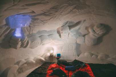 Sleeping In An Igloo Under The Matterhorn... In Zermatt, Switzerland (36)