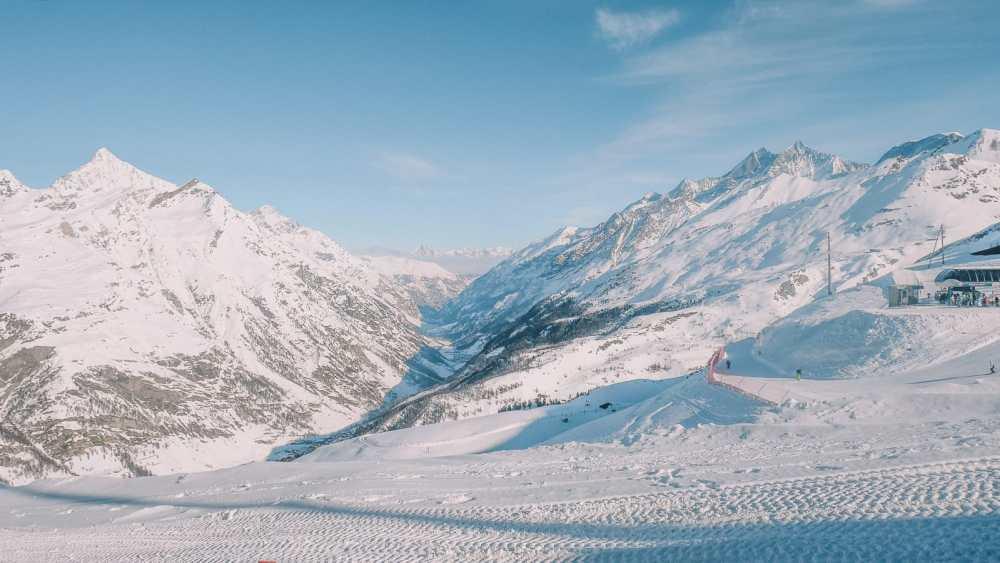 Skiing In Zermatt, Switzerland... (1)