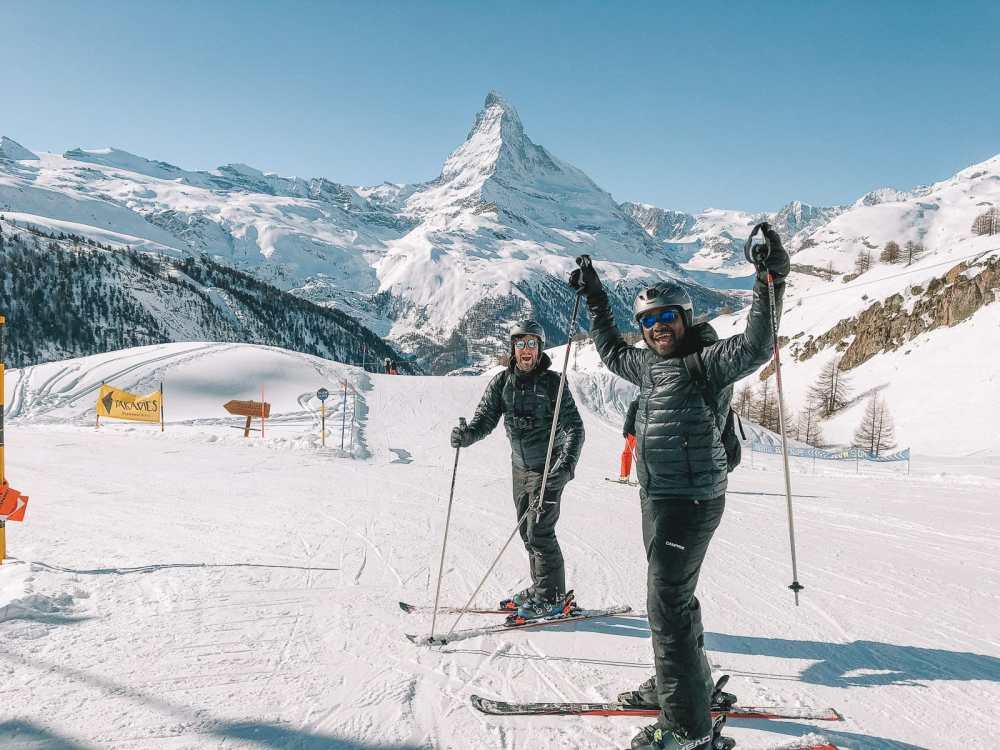 Skiing In Zermatt, Switzerland... (15)