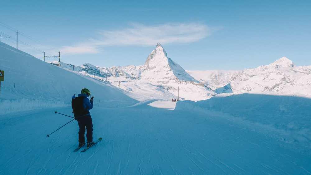 Skiing In Zermatt, Switzerland... (3)