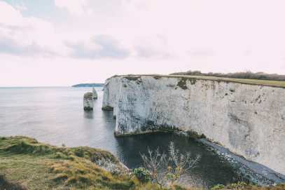 Exploring The Old Harry Rocks Formation On The Jurassic Coast Of England (27)