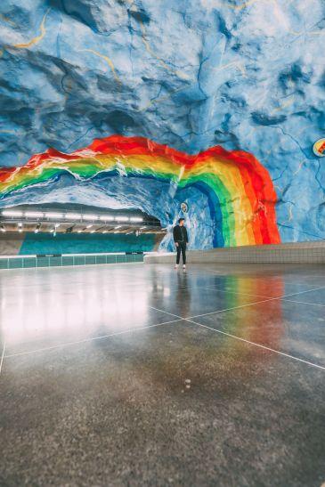 Best Stations Stockholm's Metro Art (4)