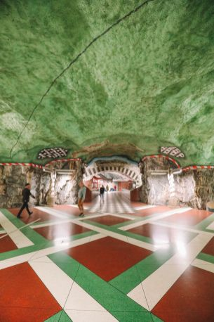 Best Stations Stockholm's Metro Art (21)