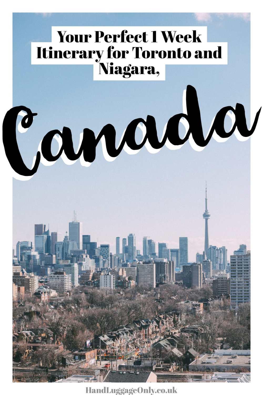 Explore Toronto to Niagara Falls