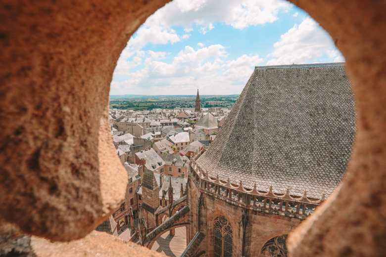 The Pretty Little City Of Rodez In The South Of France (37)