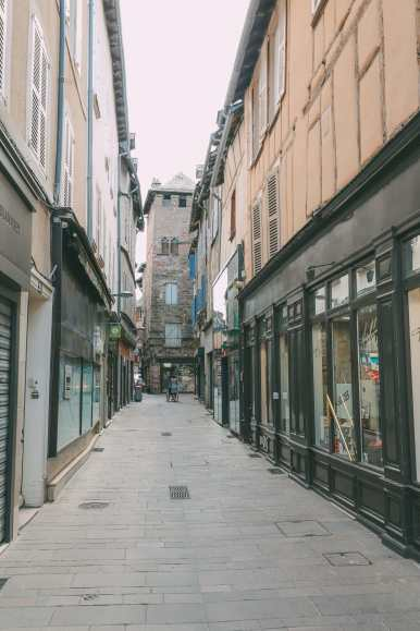 The Pretty Little City Of Rodez In The South Of France (47)