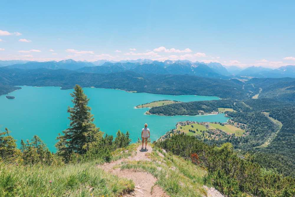 Walchensee - One Of The Most Beautiful Views In The Alps Of Germany (...And It's Got A Beach Too!) (4)