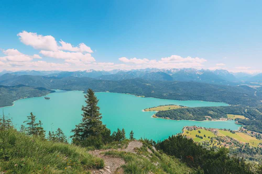 Walchensee - One Of The Most Beautiful Views In The Alps Of Germany (...And It's Got A Beach Too!) (16)
