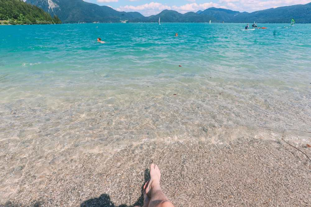 Walchensee - One Of The Most Beautiful Views In The Alps Of Germany (...And It's Got A Beach Too!) (21)