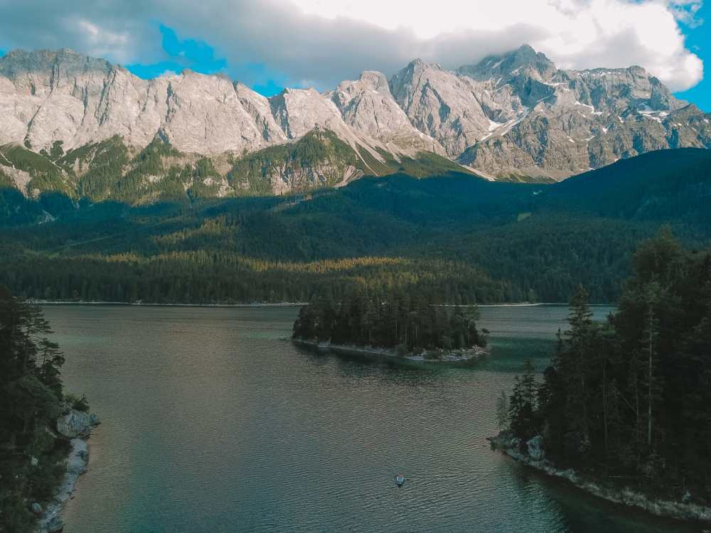 Zugspitze And Eibsee - The Tallest Mountain And One Of The Most Beautiful Lakes In Germany! (2)