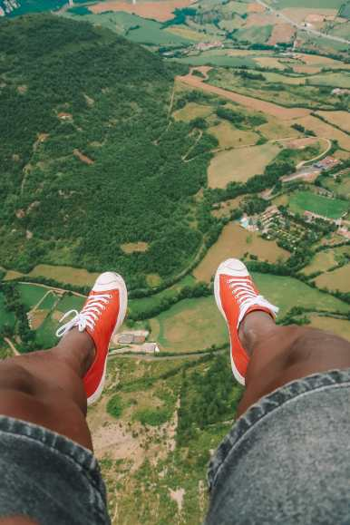 Sailing Down The River (And Paragliding) In Milau... In The South Of France (21)