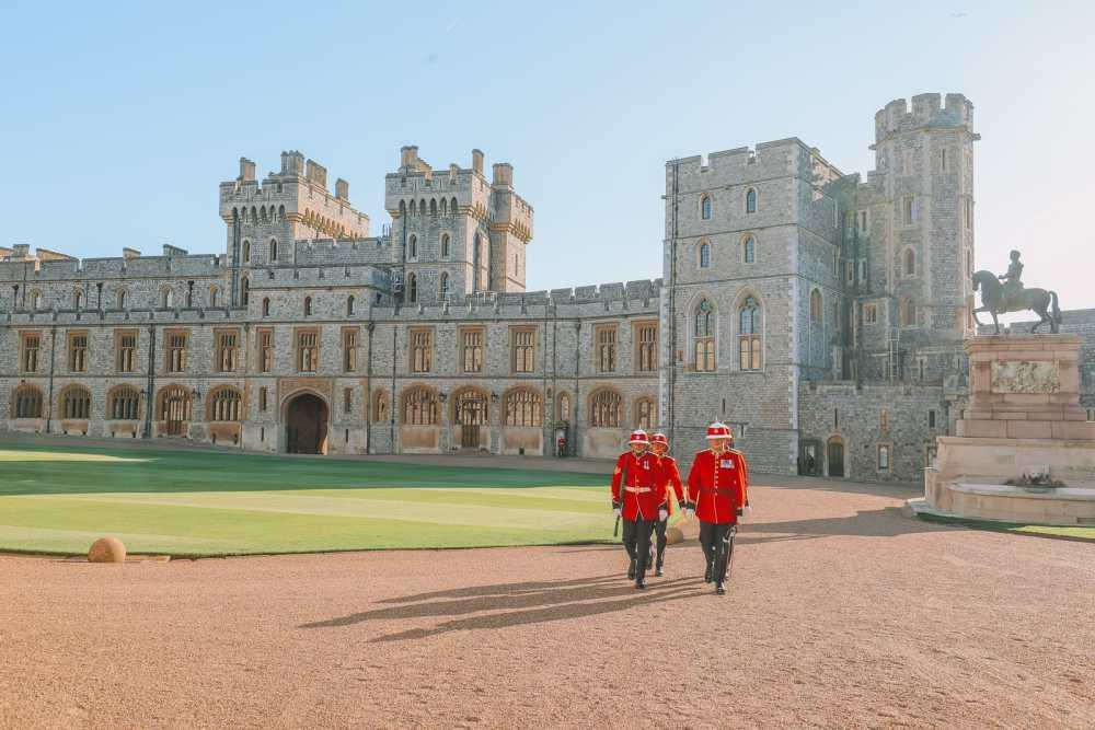 Un après-midi au château de Windsor ... (en plus, 10 choses à savoir avant de visiter le château de Windsor). (26)