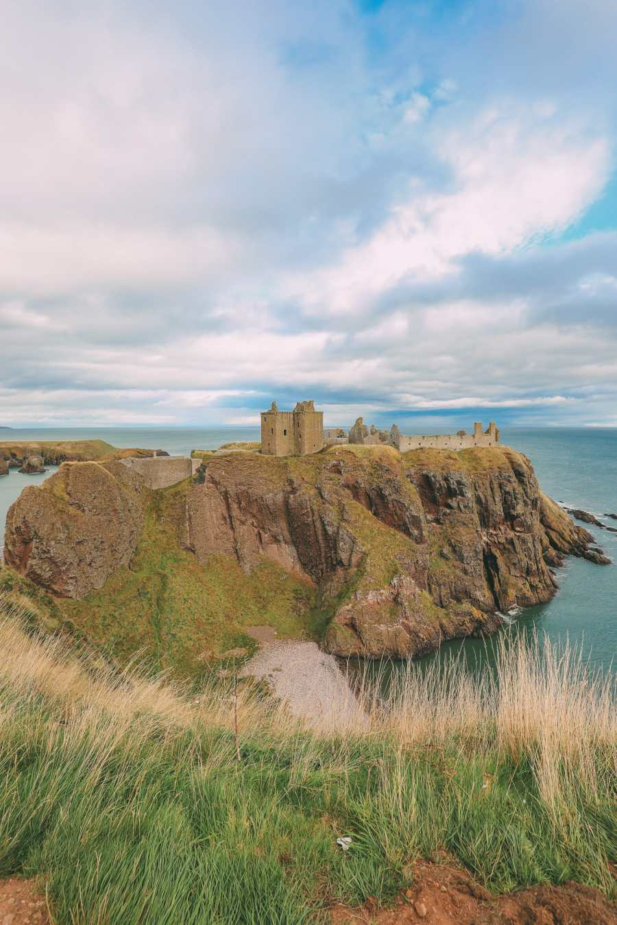 Exploring The Ancient Dunnottar Castle... In Stonehaven, Scotland (10)
