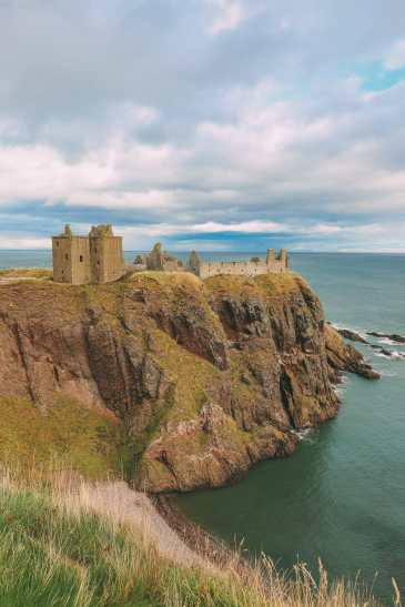 Exploring The Ancient Dunnottar Castle... In Stonehaven, Scotland (12)
