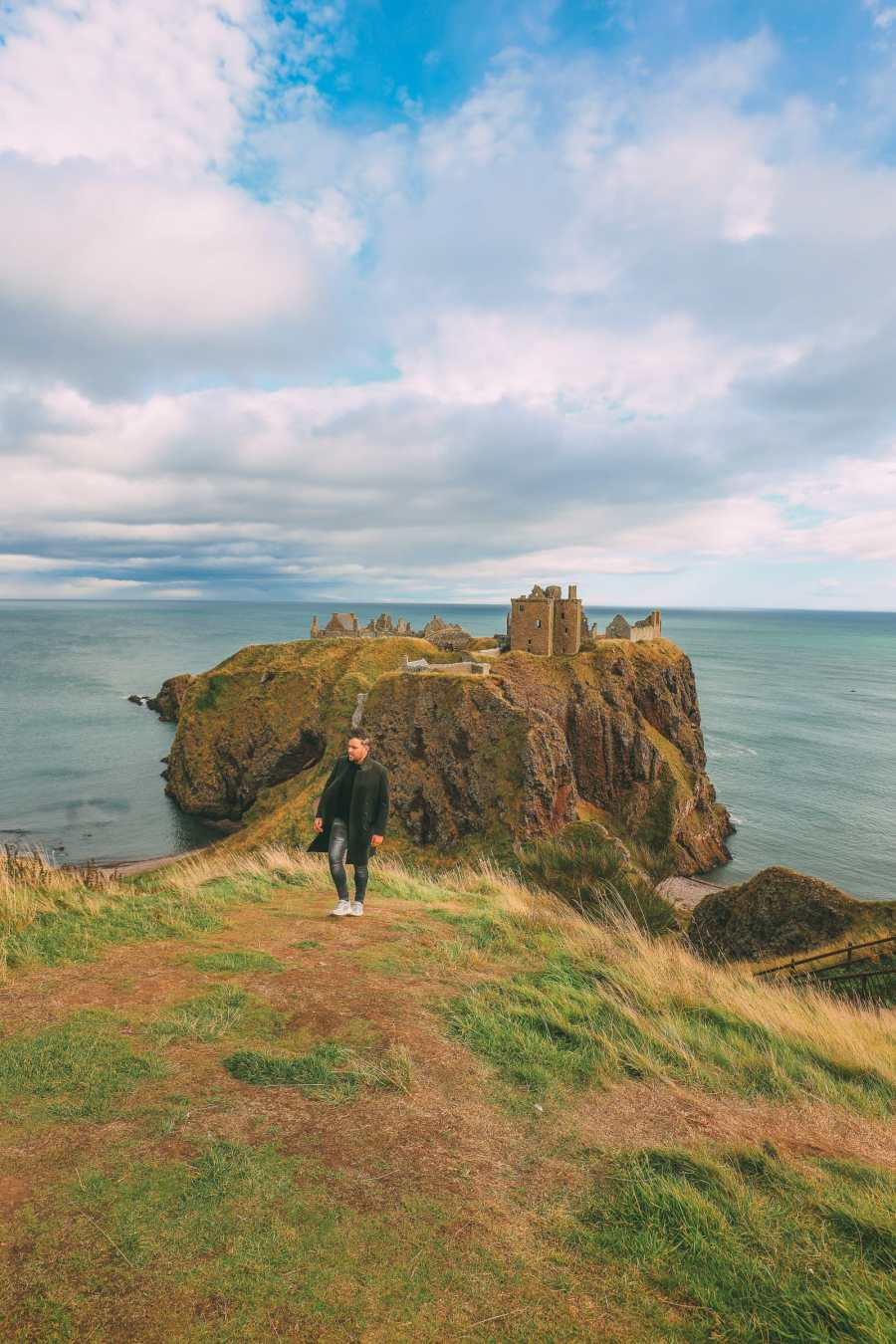 Exploring The Ancient Dunnottar Castle... In Stonehaven, Scotland (13)