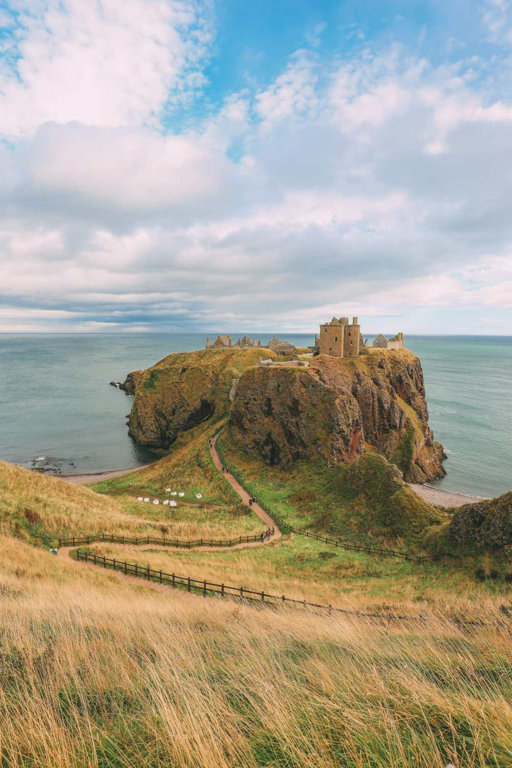 Exploring The Ancient Dunnottar Castle... In Stonehaven, Scotland (14)