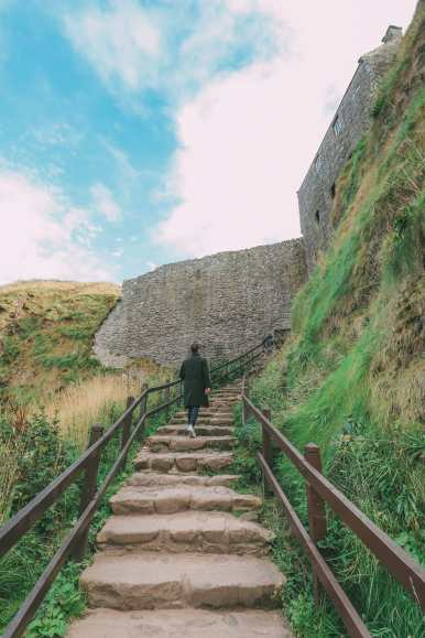 Exploring The Ancient Dunnottar Castle... In Stonehaven, Scotland (17)
