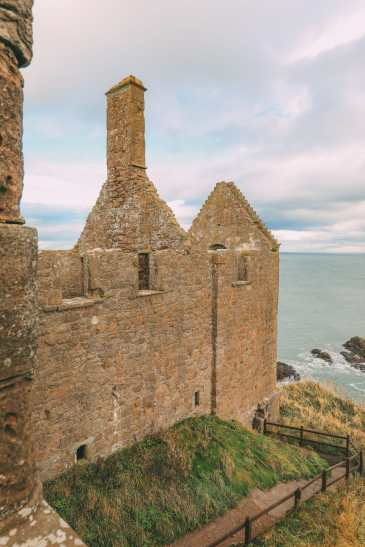 Exploring The Ancient Dunnottar Castle... In Stonehaven, Scotland (36)
