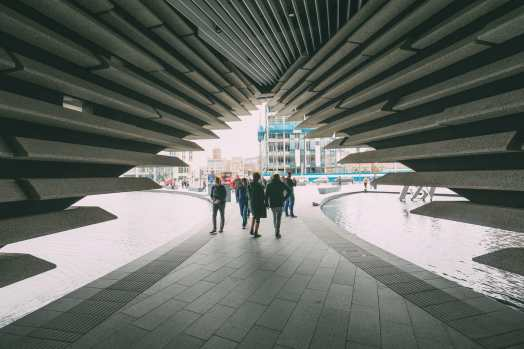 Discovering Two Scottish Gems - The V&A Dundee And The Magnificent Glamis Castle (14)