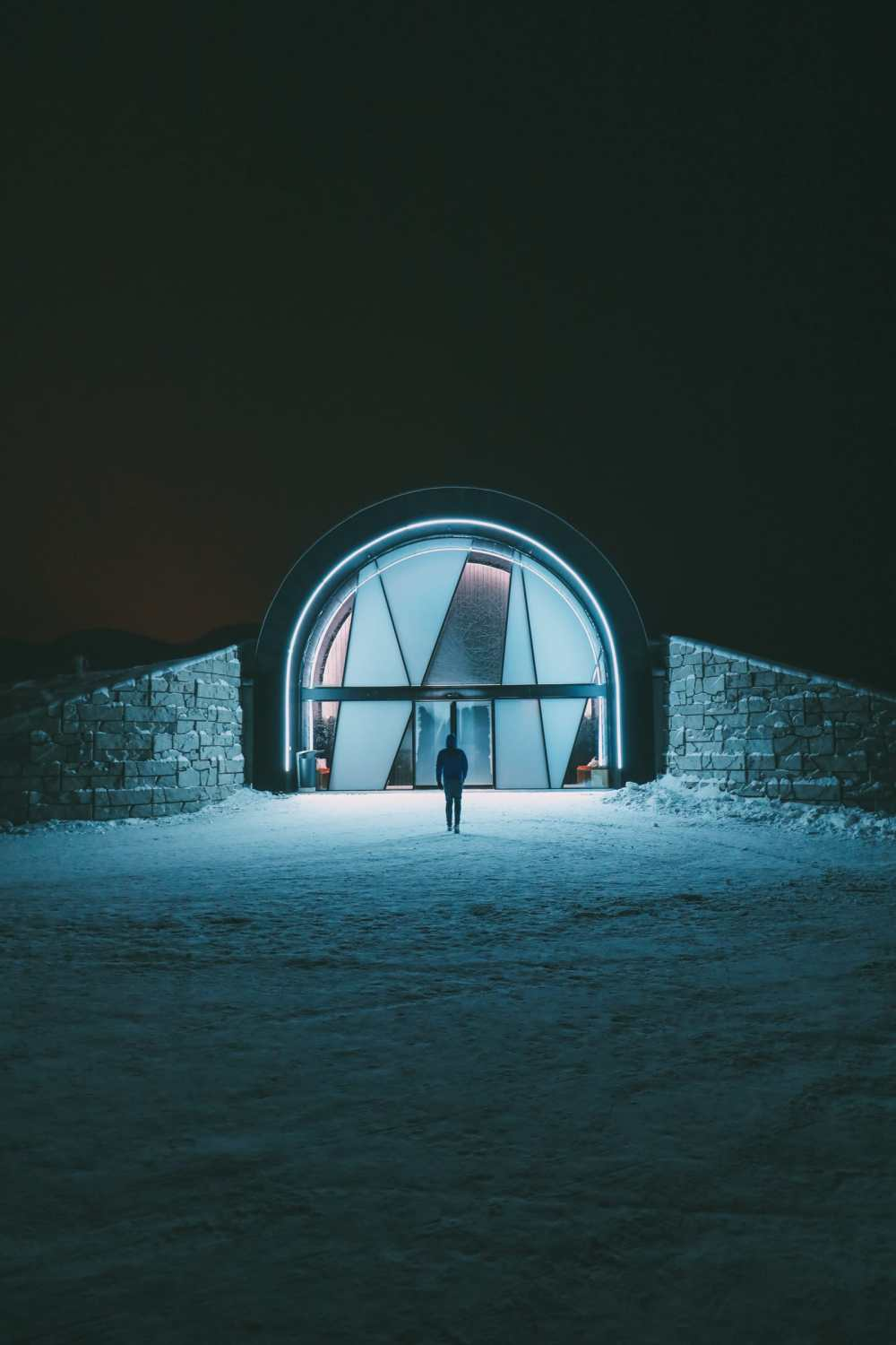 Arrival At The ICEHOTEL In Lapland, Sweden (31)