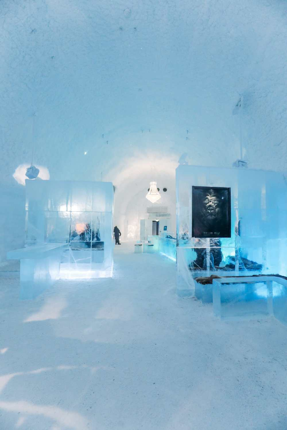 Arrival At The ICEHOTEL In Lapland, Sweden (34)