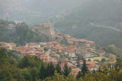 The Beautiful Lago Di Tenno, Cascate Del Varone And Completing A Via Ferrata In Lake Garda, Italy (14)