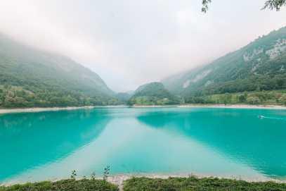 The Beautiful Lago Di Tenno, Cascate Del Varone And Completing A Via Ferrata In Lake Garda, Italy (25)