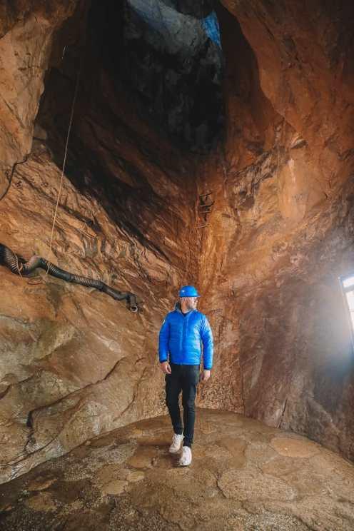 Trouver le col de Winnats et un lac souterrain dans le Peak District, Angleterre (15)