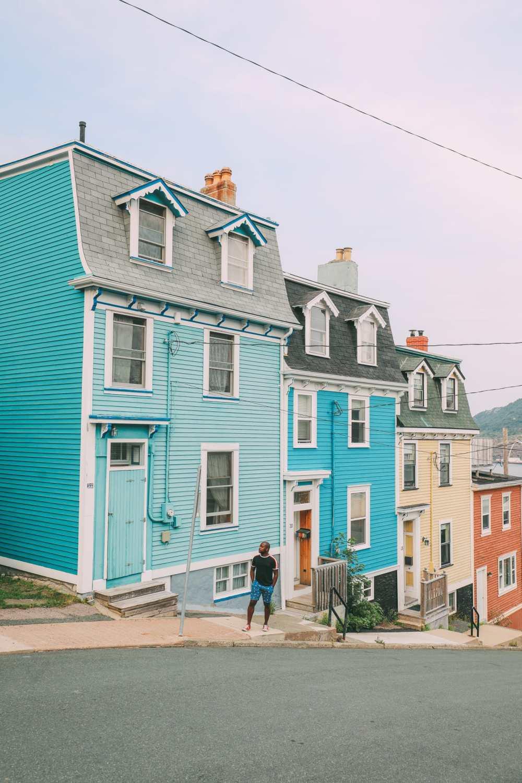 The Colourful Houses Of St John's, Newfoundland (8)