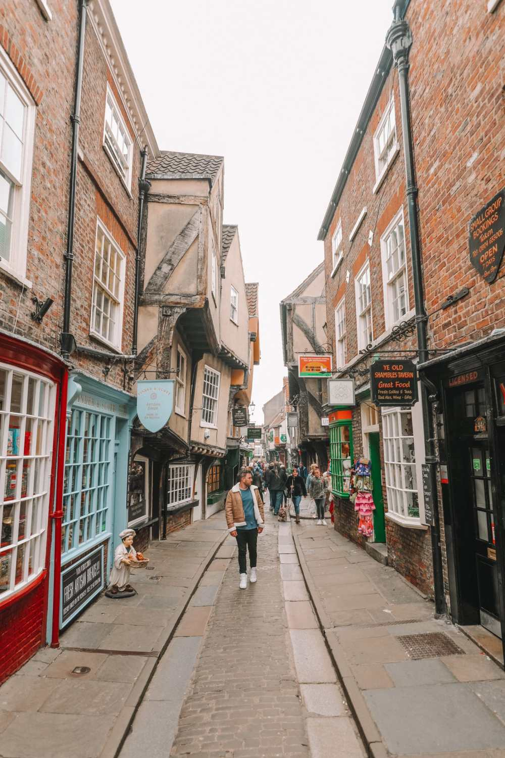 Taking A Step Back Into The Past In York, England (42)