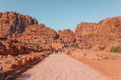 Finding The Monastery Up In The Mountains In Petra, Jordan (2)