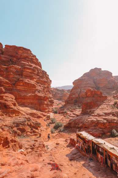 Finding The Monastery Up In The Mountains In Petra, Jordan (14)