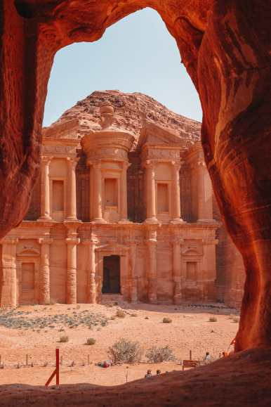 Finding The Monastery Up In The Mountains In Petra, Jordan (22)