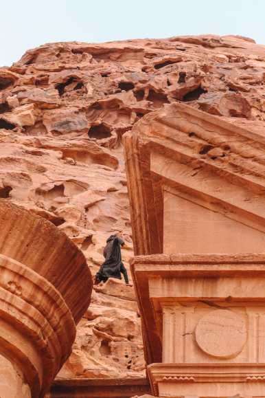 Finding The Monastery Up In The Mountains In Petra, Jordan (48)