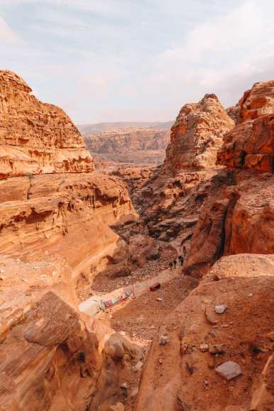 Finding The Monastery Up In The Mountains In Petra, Jordan (50)