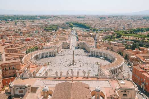 The Magnificent St Peter's Basilica In The Vatican City, Rome (17)