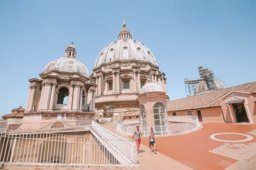 The Magnificent St Peter's Basilica In The Vatican City, Rome (23)