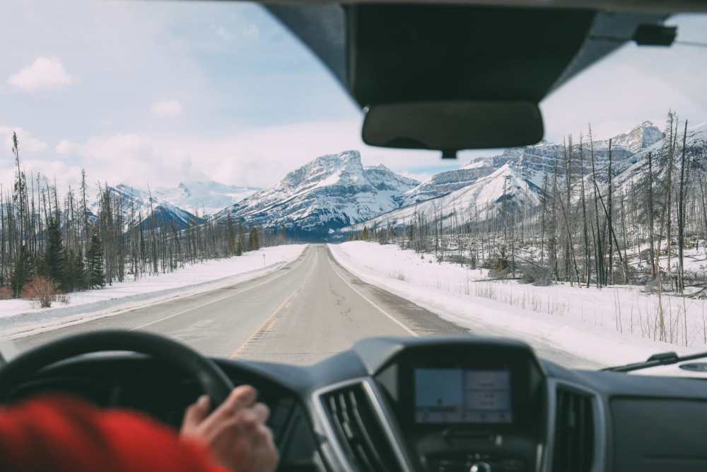 Driving Canada's Epic Icefields Parkway And Finding The Frozen Bubbles Of Abraham Lake (50)