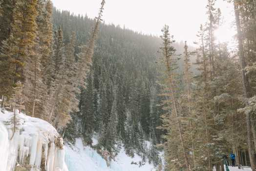 Hiking Johnston Canyon And Seeing The Northern Lights Over Canada (26)