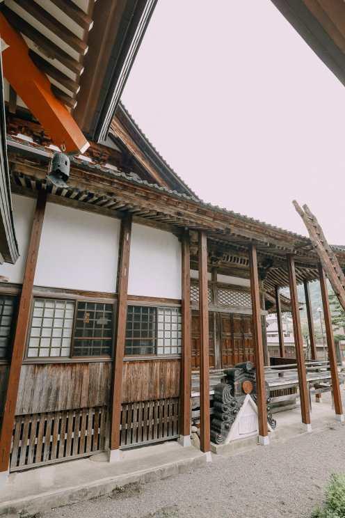 A Misogi Purification Ritual And Temples In Hakusan City - Japan (18)