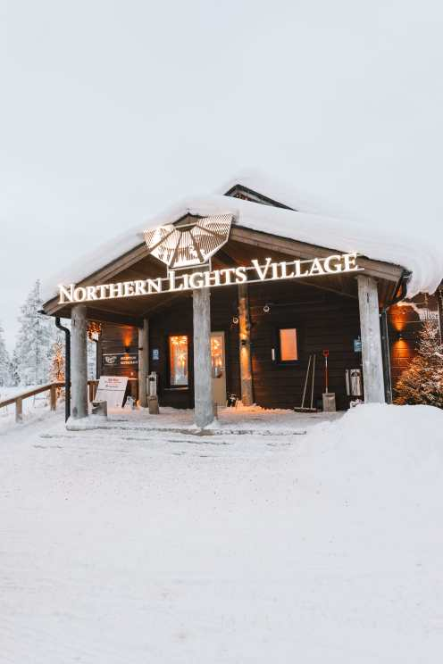The Northern Lights Village And Star Arctic... In Lapland, Finland (5)