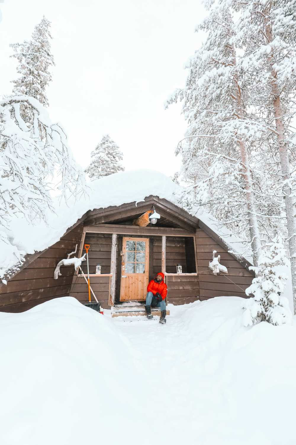 The Northern Lights Village And Star Arctic... In Lapland, Finland (13)