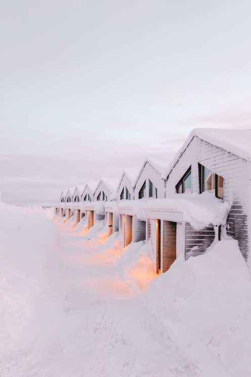 The Northern Lights Village And Star Arctic... In Lapland, Finland (45)